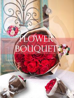 プリザーブドフラワーの花束贈呈プレゼント