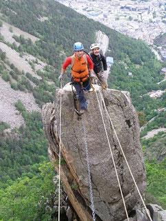 Via Ferrata Andorre - 2 au 5 mai 2011