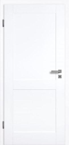füllungsdesignTür Valencia 2G, Weißlack 3.0 Extraweiß, Designkante
