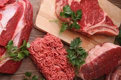 Auf diesem Foto sieht man bestes steirisches Rindfleisch vom Knerzlhof