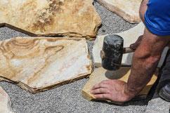 Verlegung von Natursteine