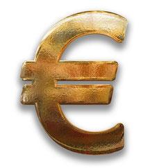 Euro en or IIllustration Laurence Ricou avocat droit de la consommation