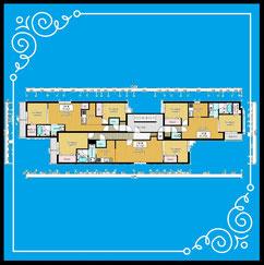 〒001-0036 北海道札幌市北区北36条西6丁目1-5ブランシャール麻生-BlancShaedAZABU