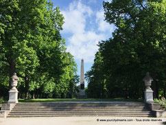 Luitpoldpark, parc citadin de Munich