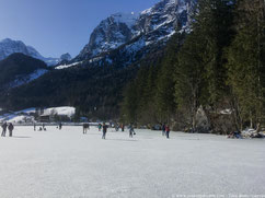 patineurs sur glace