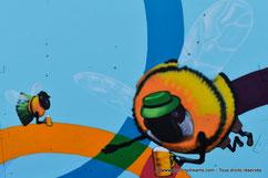 Kunst der Straße au parc olympique