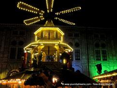 Weihnachtsmarkt: Les marchés de Noel de Munich et de Bavière sont des attractions très touristiques.