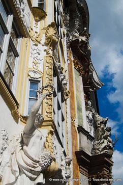L'Asamkirche, église rococo des frères Asam dans Munich, Bavière