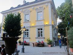 Voyage à Munich - Café dans le le Luitpoldpark