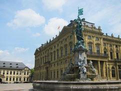 Residenzplatz Wurtzbourg