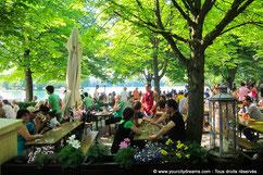 Voyage à Munich - Biergarten am Feringasee