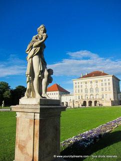 jardin à la française Nymphenburg
