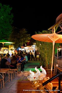 voyage à Munich - Les bars de Tollwood