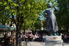 Fontaine du Biergarten du Viktualienmarkt