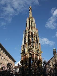 Fontaine à Nuremberg