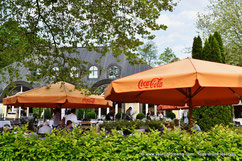 Le Biergarten am See du jardin anglais à Munich