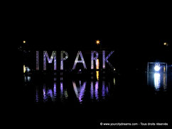 Le festival Impark a lieu près des stades du parc olympique de Munich.