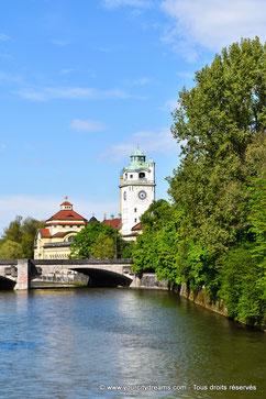 Le Müllersches Volksbad de Munich est l´un des plus beaux bains art nouveau d´Allemagne