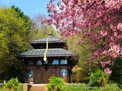 Pagode népalaise du Westpark, parc à l'ouest de Munich