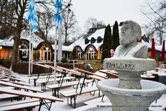 Biergarten hiver