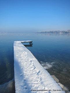 lacs enneigés