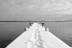 Chiemsee en hiver