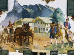 fresque Oberammergau