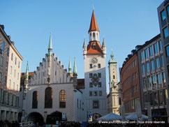 Tourisme - L'ancien hôtel de ville de Munich, musée du jouet