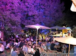 Le festival de Tollwood dans le parc olympique de Munich