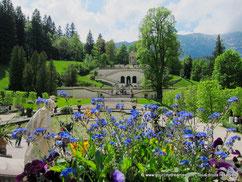 Tourisme en Bavière - Le parc de Linderhof