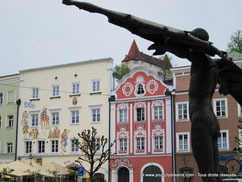 Stadtplaz Burghausen