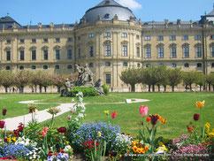 Parc baroque Wurtzbourg