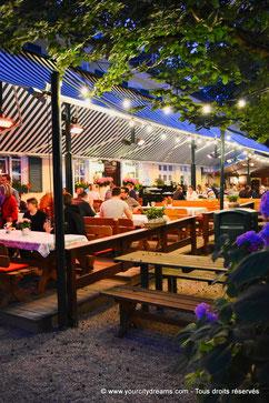 Les Biergarten de Munich - Le Waldwirtschaft