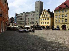 La vieille ville de Regensburg