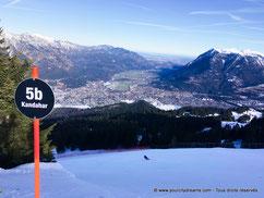 piste station ski