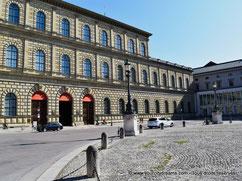 Voyage à Munich - La Résidence, ancien palais des rois de Bavière
