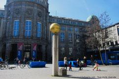 Deutsches Museum, musée des sciences au bord de l'Isar fleuve