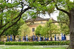 Parc Café, le Biergarten chic de Munich, Bavière