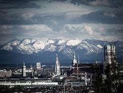 Munich en hiver