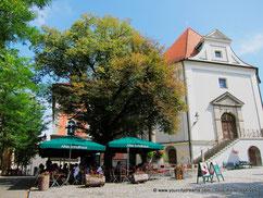 La petite ville de Dachau près de Munich