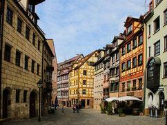 Centre médiéval de Nuremberg
