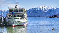 Lac baviere hiver