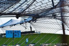 L'architecture du stade olympique de Munich
