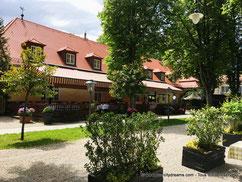 Biergarten Menterschwaige à Munich