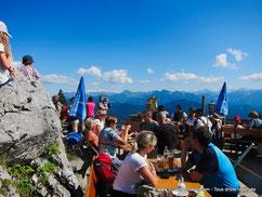Biergarten montagne