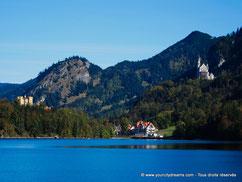 châteaux alpes bavaroises