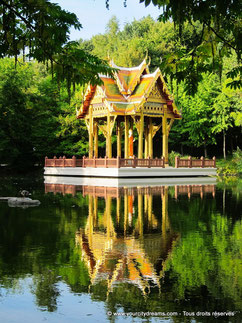 Le Westpark est un grand parc à l´ouest de Munich. Il dispose de plusieurs temples asiatiques.