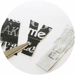Bild: Diese DIY Idee für Servietten musst Du gesehen haben - So einfach Deko und Bilder mit Servietten selber machen, mit Freebie Bastelvorlage von www.partystories.de
