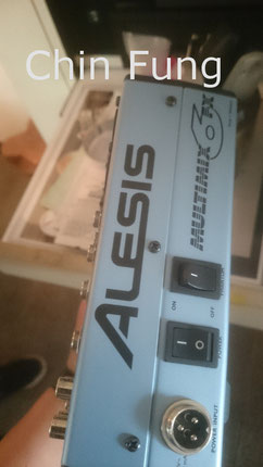 Alesis multimix 音響