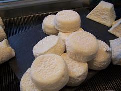 fromages de chèvre du purdeau à 8 jours d'affinage